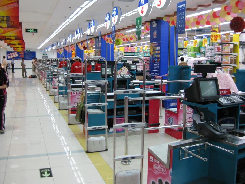 北京华润万家超市_百货超市_工程案例_深圳蓉华电子有限公司